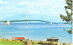 Mackinac Straits Bridge,Mackinac Island,Michigan