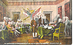 Declaration of Independence Philadelphia Pennsylvania p18946