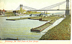 Coal Barges Pittsburgh  Pennsylvania p18951
