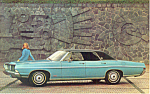 Click here to enlarge image and see more about item p19005: 1968 Ford LTD Four Door Hardtop  Postcard