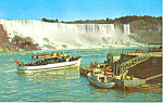 Maid of the Mist  Niagara Falls  Canada Postcard p19036