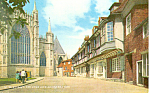 St Williams College and Minster, York Postcard