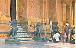 Click here to enlarge image and see more about item p19049: Temple of Emerald Budha Bangkok Thailand Postcard p19049