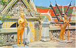 Click here to enlarge image and see more about item p19053: Temple of Emerald Budha  Bangkok Thailand Postcard p19053