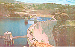 Click here to enlarge image and see more about item p19059: Boulder Dam. Lake Mead NV Postcard p19059