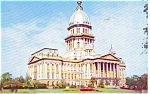 Click here to enlarge image and see more about item p1905: Springfield IL State Capitol  Postcard