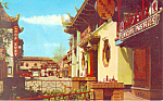 Chinatown,Los Angeles, CA Postcard 1963
