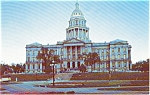 Denver CO State Capitol  Postcard