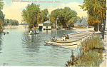 Shimmers Lake Grand Island NE Postcard p19082