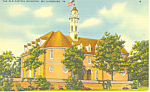 Old Capitol, Williamsburg, VA Postcard