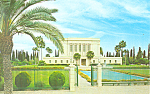 Click here to enlarge image and see more about item p19103: LDS Mormon Temple, Mesa, Arizona Postcard