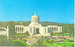 State Capitol Salem Oregon Postcard p19106