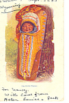 Click here to enlarge image and see more about item p19118: Indian Papoose Postcard 1905