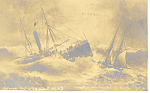 Schooner Alberta Atlantic City, NJ Postcard 1906