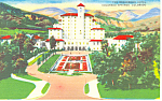 Broadmoor Hotel Colorado Springs CO Postcard p19144