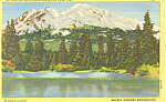 Mt Shasta, California Postcard