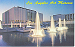 Los Angeles Art Museum California Postcard p19173