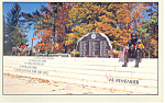 Berks County Vietnam Memorial Reading PA Postcard p19188