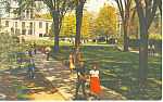 Library, Pennsylvania State University Postcard 1955