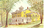 Asa Packer Mansion, Jim Thorpe, PA Postcard