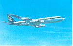 Olympic Airways Boeing 707-320 Postcard p19207