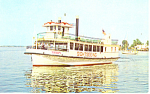 The Harbor Queen 300 Passenger Postcard p19213