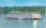 SS Admiral Mississippi River Postcard p19215 1965