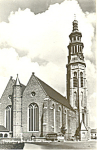 Click here to enlarge image and see more about item p19231: Middelburg, N.Kerk met Lange Jan Postcard