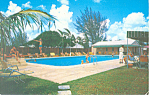 Miami Airways Hotel Miami Springs Florida Postcard p19233