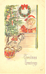 Christmas Greetings Postcard p19253