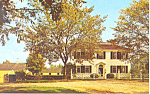 Salem Towne House Old Sturbridge Village MA Postcard p19261