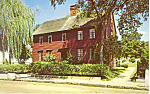 Click here to enlarge image and see more about item p19267: Buckingham House Mystic Seaport CT Postcard p19267