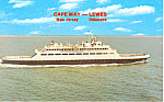 Cape May Lewes DE Ferry Postcard p19275
