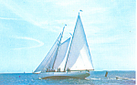 The Schooner Brilliant Postcard p19276