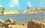 Click here to enlarge image and see more about item p19280: Castillo San Felipe del Morro, Puerto Rico Postcard