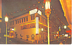 The Golden Pavillon Restaurant, CA Postcard