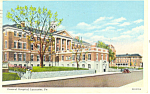 General Hospital Lancaster Pennsylvania Postcard p19328