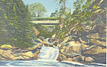 The Plume Franconia Notch NH Postcard p19346