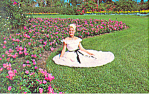 Flowers and Girls,Cypress Gardens, FL Postcard