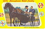 Amish Courting Buggy Postcard