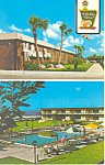 Holiday Inn Titusville Florida Postcard p19383