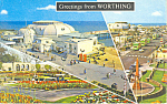 Greetings from Worthing,United Kingdom Postcard