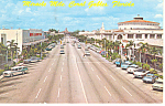 Miracle Mile Coral Gables Florida p19428  Cars 50s
