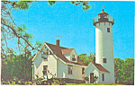 Click here to enlarge image and see more about item p19449: West Chop Light,Martha's Vinyard, Massachusetts