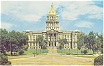 Denver CO State Capitol Postcard p1946