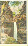 Cavern Cascade  Watkins Glen New York p19483