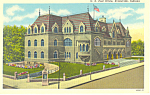 Click here to enlarge image and see more about item p19518a: US Post Office, Evansville,Indiana