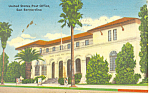 Click here to enlarge image and see more about item p19520: US Post Office, San Bernardino, California