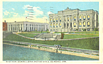 Click here to enlarge image and see more about item p19524: US Post Office and Library  Des Moines Iowa p19524