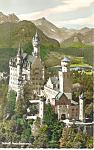 Schloss Neuschwanstein, Bavaria,Germany RPPC